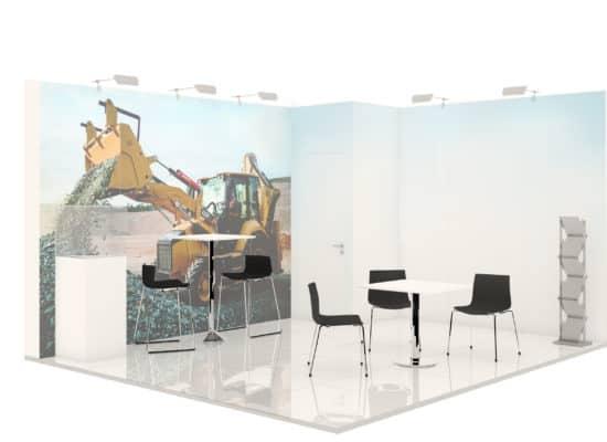 Artworker bauma stand construction Munich