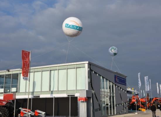 Balloon Trade Fair Outside Area