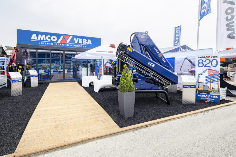 bauma-outside area- AMCO 2019