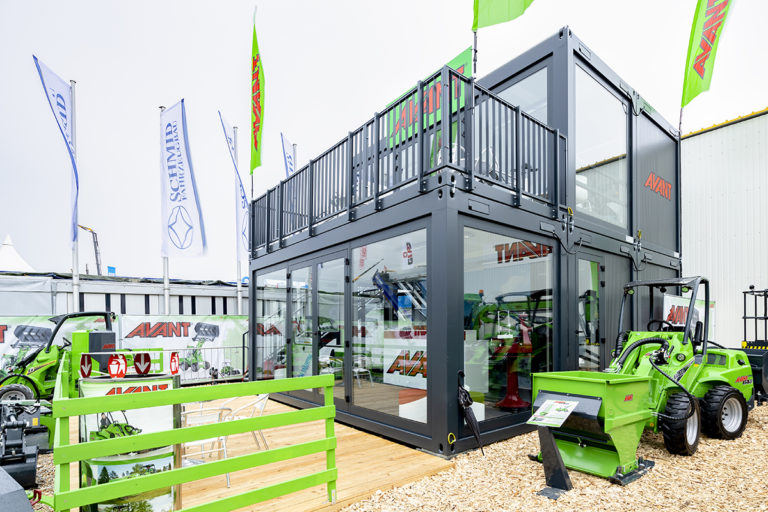 bauma-outside area- AVANT 2019
