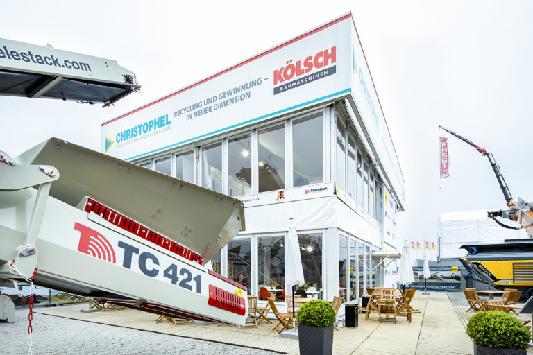 bauma-outside area- Koelsch 2019
